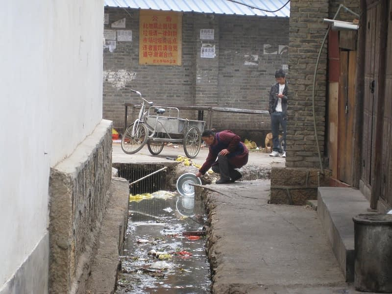 Asia water pollution