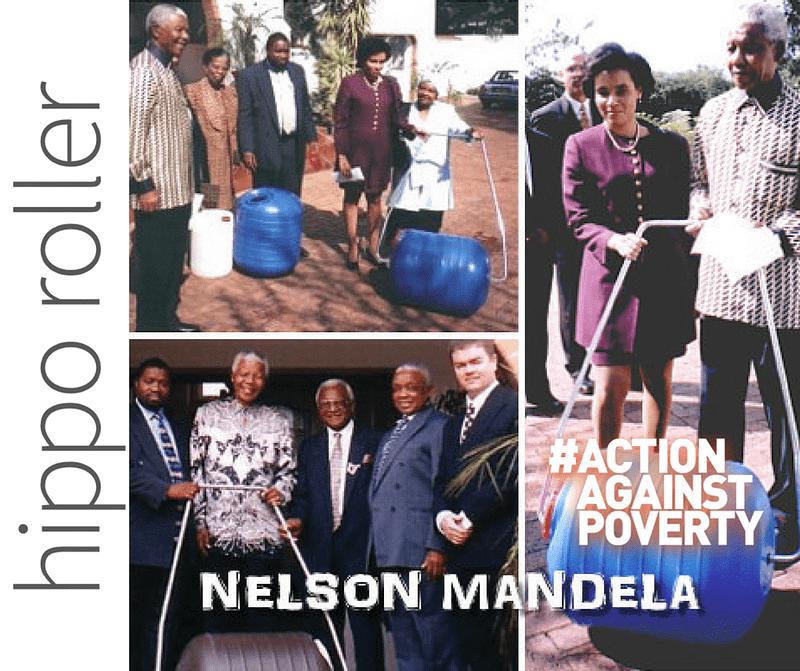 Hippo Roller Mandela Day collage