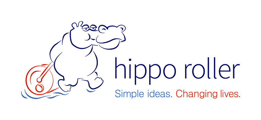 Hipporoller logo primary logo in colour